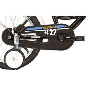 "Vermont City Police 12"" Niños, black/white"